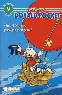 Cover Thumbnail for Donald Pocket (Hjemmet / Egmont, 1968 series) #9 [6. opplag Reutsendelse 277 56]