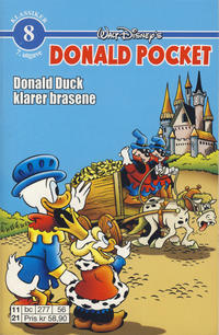 Cover Thumbnail for Donald Pocket (Hjemmet / Egmont, 1968 series) #8 [6. opplag Reutsendelse 277 56]