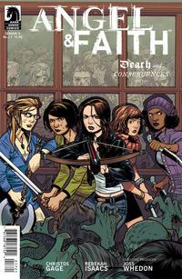 Cover Thumbnail for Angel & Faith (Dark Horse, 2011 series) #17 [Rebekah Isaacs Alternate Cover]