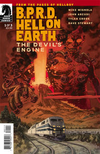 Cover Thumbnail for B.P.R.D. Hell on Earth: The Devil's Engine (Dark Horse, 2012 series) #1 [92]