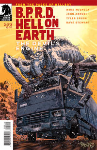 Cover Thumbnail for B.P.R.D. Hell on Earth: The Devil's Engine (Dark Horse, 2012 series) #2 [94]