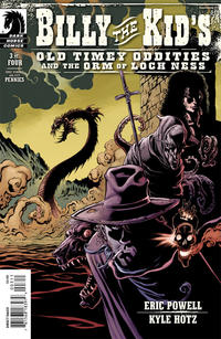 Cover Thumbnail for Billy the Kid's Old Timey Oddities and the Orm of Loch Ness (Dark Horse, 2012 series) #3