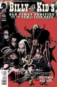 Cover Thumbnail for Billy the Kid's Old Timey Oddities and the Orm of Loch Ness (Dark Horse, 2012 series) #2