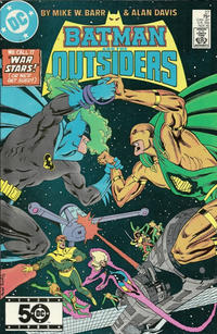 Cover Thumbnail for Batman and the Outsiders (DC, 1983 series) #27 [Direct]