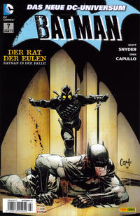 Cover Thumbnail for Batman (Panini Deutschland, 2012 series) #7 (72)