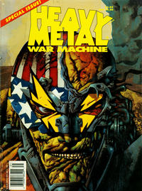 Cover Thumbnail for Heavy Metal Special Editions (Heavy Metal, 1981 series) #v7#1 - War Machine