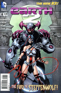 Cover Thumbnail for Earth 2 (DC, 2012 series) #8
