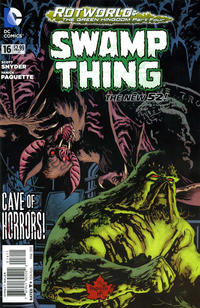 Cover Thumbnail for Swamp Thing (DC, 2011 series) #16