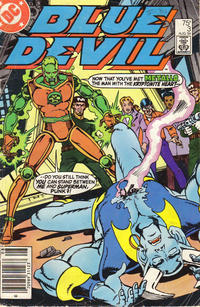 Cover Thumbnail for Blue Devil (DC, 1984 series) #3 [Newsstand]
