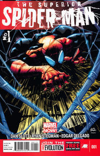Cover Thumbnail for Superior Spider-Man (Marvel, 2013 series) #1 [Direct Edition]