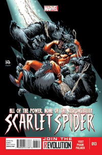 Cover Thumbnail for Scarlet Spider (Marvel, 2012 series) #13