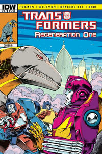 Cover Thumbnail for Transformers: Regeneration One (IDW, 2012 series) #87 [Cover B - Guido Guidi]