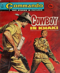 Cover for Commando (D.C. Thomson, 1961 series) #641