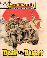 Cover Thumbnail for Commando (D.C. Thomson, 1961 series) #962