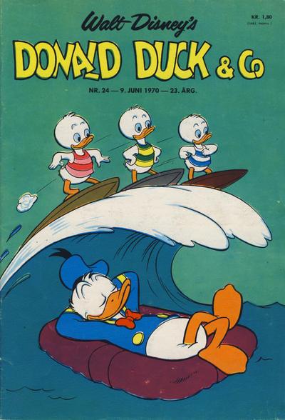 Cover for Donald Duck & Co (Hjemmet / Egmont, 1948 series) #24/1970