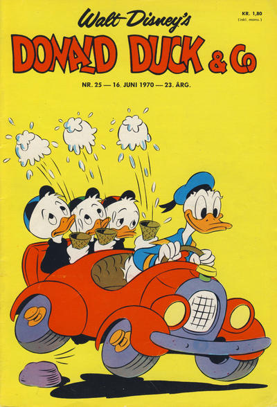 Cover for Donald Duck & Co (Hjemmet / Egmont, 1948 series) #25/1970