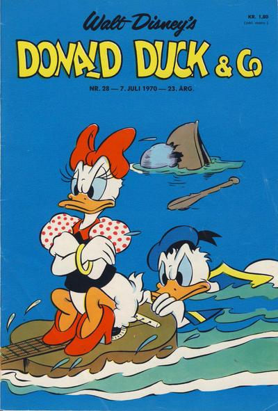Cover for Donald Duck & Co (Hjemmet / Egmont, 1948 series) #28/1970