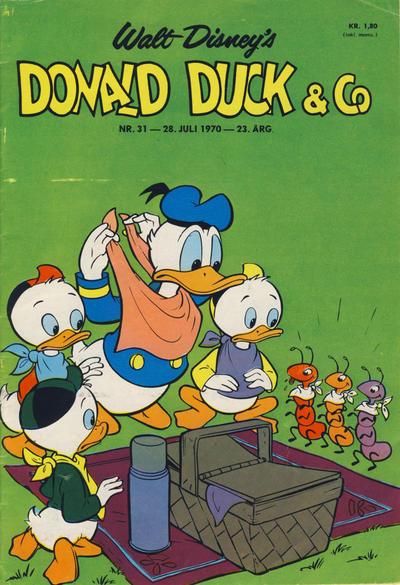 Cover for Donald Duck & Co (Hjemmet / Egmont, 1948 series) #31/1970