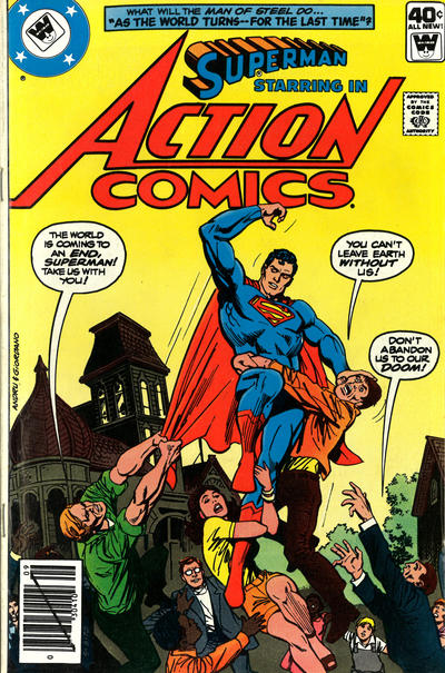 Cover for Action Comics (DC, 1938 series) #499