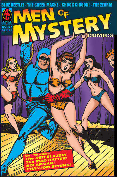 Cover for Men of Mystery Comics (AC, 1999 series) #87