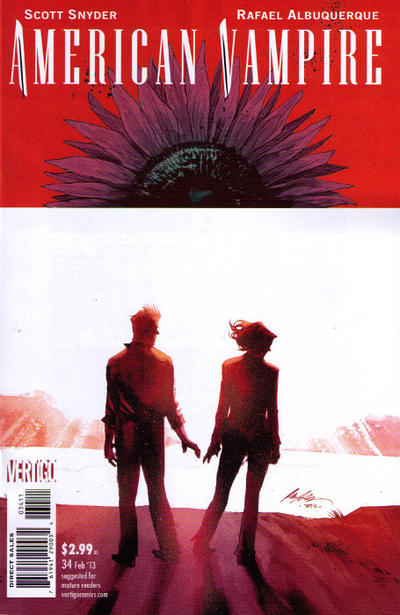Cover for American Vampire (DC, 2010 series) #34