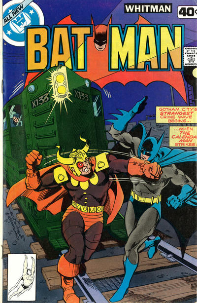 Cover for Batman (DC, 1940 series) #312 [Whitman Variant]