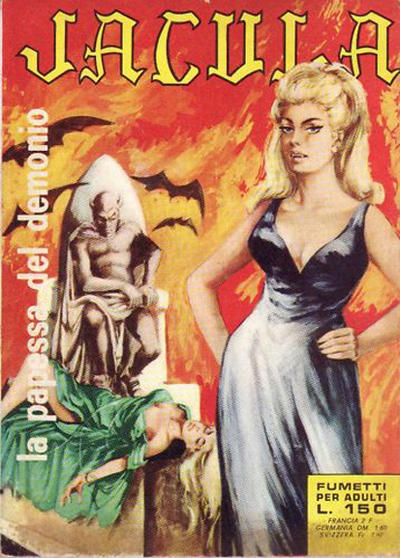 Cover for Jacula (Ediperiodici, 1969 series) #6