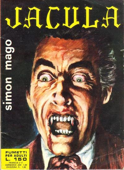 Cover for Jacula (Ediperiodici, 1969 series) #16