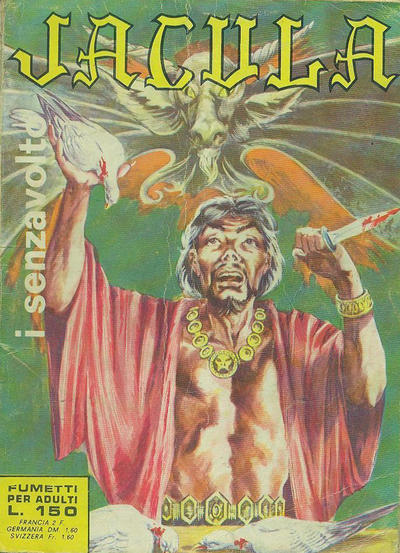 Cover for Jacula (Ediperiodici, 1969 series) #25