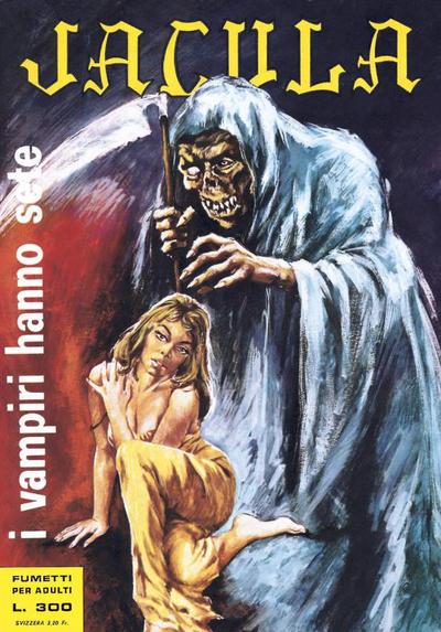 Cover for Jacula (Ediperiodici, 1969 series) #31