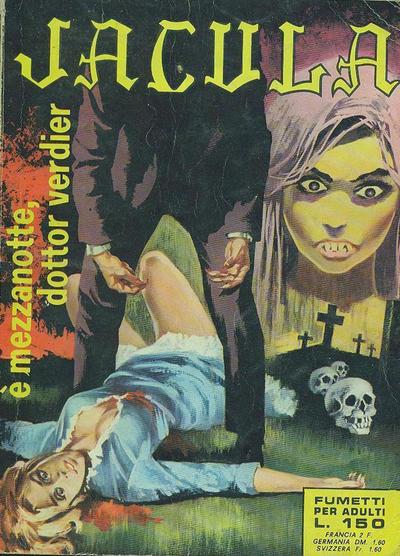 Cover for Jacula (Ediperiodici, 1969 series) #44