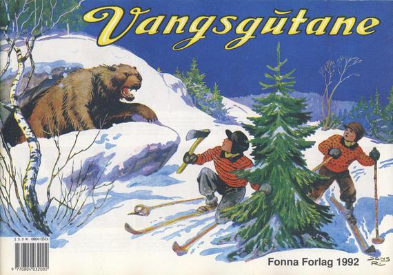 Cover for Vangsgutane (Fonna Forlag, 1941 series) #1992
