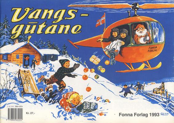 Cover for Vangsgutane (Fonna Forlag, 1941 series) #1993