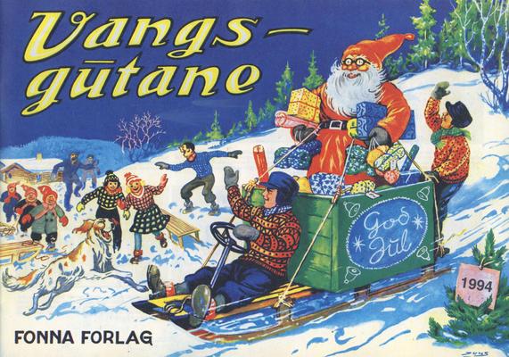 Cover for Vangsgutane (Fonna Forlag, 1941 series) #1994