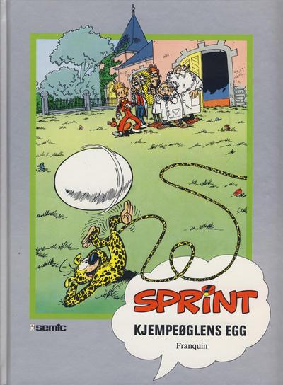 Cover for Sprint [Seriesamlerklubben] (Semic, 1986 series) #[43] - Kjempeøglens egg