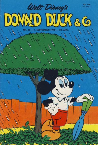 Cover for Donald Duck & Co (Hjemmet / Egmont, 1948 series) #36/1970