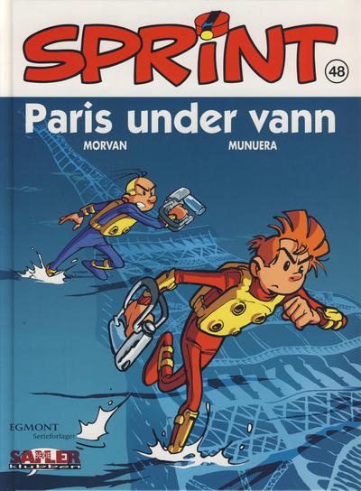 Cover for Sprint [Seriesamlerklubben] (Hjemmet / Egmont, 1998 series) #48 - Paris under vann