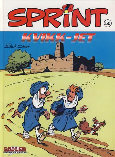 Cover for Sprint [Seriesamlerklubben] (Hjemmet / Egmont, 1998 series) #50 - Kvikk-jet