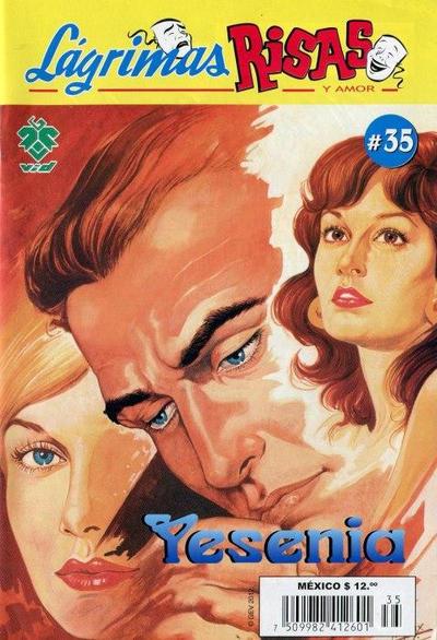 Cover for Lágrimas Risas y Amor. Yesenia (Grupo Editorial Vid, 2012 series) #35