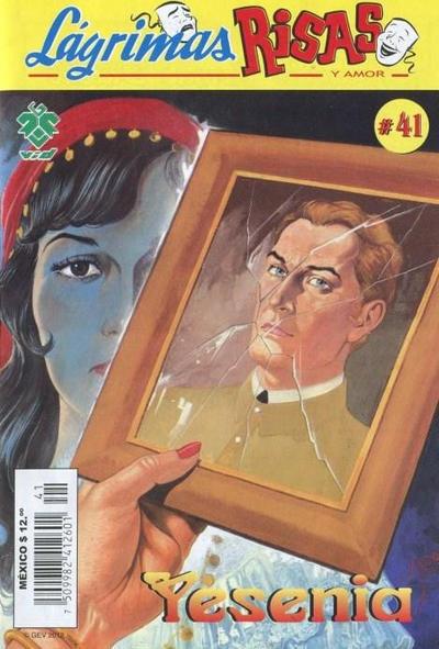 Cover for Lágrimas Risas y Amor. Yesenia (Grupo Editorial Vid, 2012 series) #41