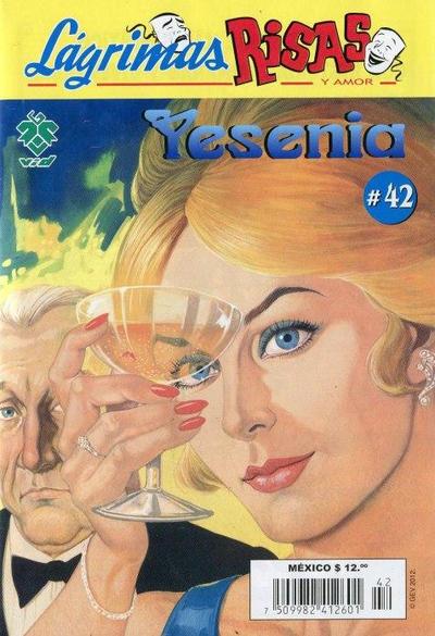 Cover for Lágrimas Risas y Amor. Yesenia (Grupo Editorial Vid, 2012 series) #42