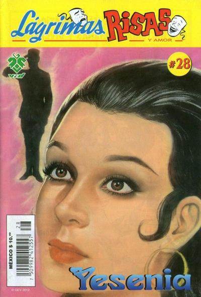 Cover for Lágrimas Risas y Amor. Yesenia (Grupo Editorial Vid, 2012 series) #28