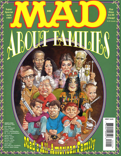 Cover for Mad Special [Mad Super Special] (EC, 1970 series) #121