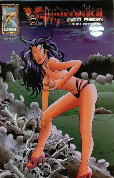 Cover for Vamperotica (Brainstorm Comics, 1994 series) #42