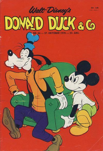 Cover for Donald Duck & Co (Hjemmet / Egmont, 1948 series) #44/1970