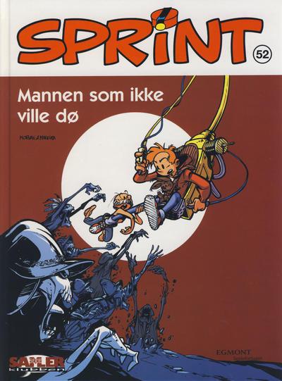 Cover for Sprint [Seriesamlerklubben] (Hjemmet / Egmont, 1998 series) #52 - Mannen som ikke ville dø