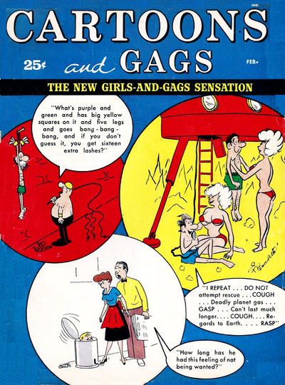 Cover for Cartoons and Gags (Marvel, 1959 series) #v8#1