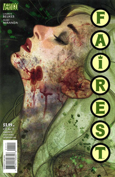 Cover for Fairest (DC, 2012 series) #11