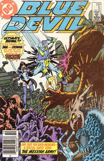 Cover for Blue Devil (DC, 1984 series) #5 [Direct Edition]