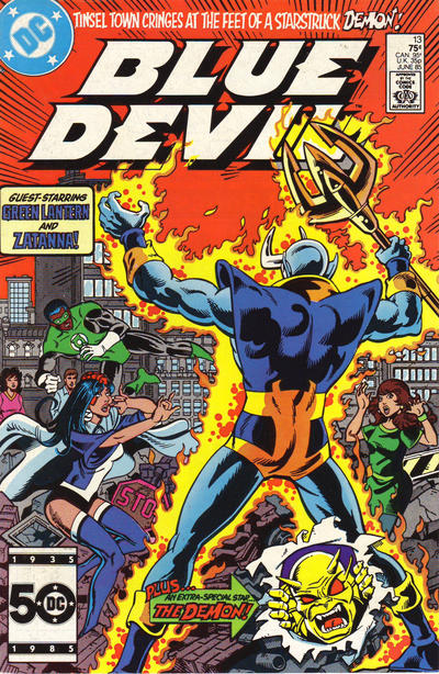 Cover for Blue Devil (DC, 1984 series) #13 [Direct Sales]